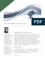Innovation Watch Newsletter 12.07 - April 6, 2013