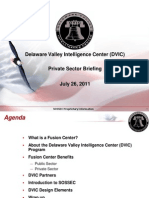 DVIC Private Sector Briefing