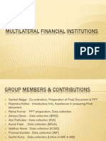 Multilteral Financial Institutions 03