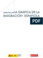 Memoria de la emigracion española