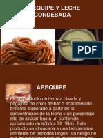Diapositivas de Arequipe y Leche Condesada
