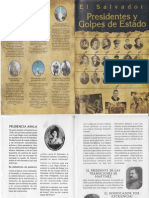 72001647 El Salvador Presidentes y Golpes de Estado