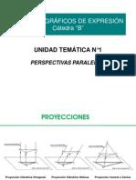 SISTEMAS GRAFICOS - Perspectivas Paralelas 2013