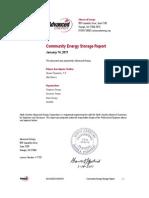 Community Energy Storage Report
