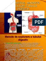 Diagnosticul Imagistic Al Bolilor Tubului Digestiv