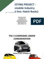 Marketing Presentation_automobile Industry(Grp 5)