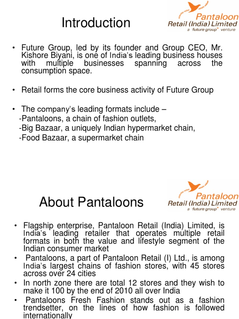 43917003 Pantaloons Customer Relationship Management