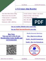 BlueEra V13 Chip Resetter
