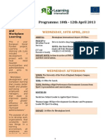 Swedish Group - Programme