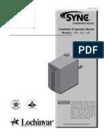 SYNC Boiler IOM