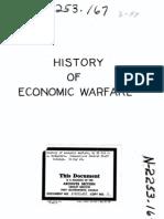 History Economic Warfare