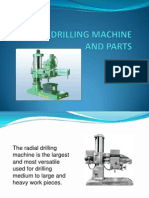 Radial Drilling Machine and Parts