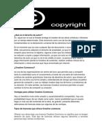Qué es el derecho de autor