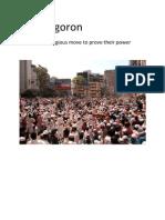 Gonojagoron
