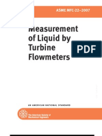 Measurement of Liquid by Turbine Flowmeters