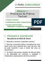Curso de Redação Para Concursos - Aula 01 - Princípios da Prática Textual