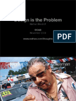 Design is the Problem