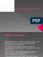 Anemia During Pregnancy