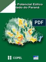 Atlas Do Potencial Eolico Do Estado Do Parana