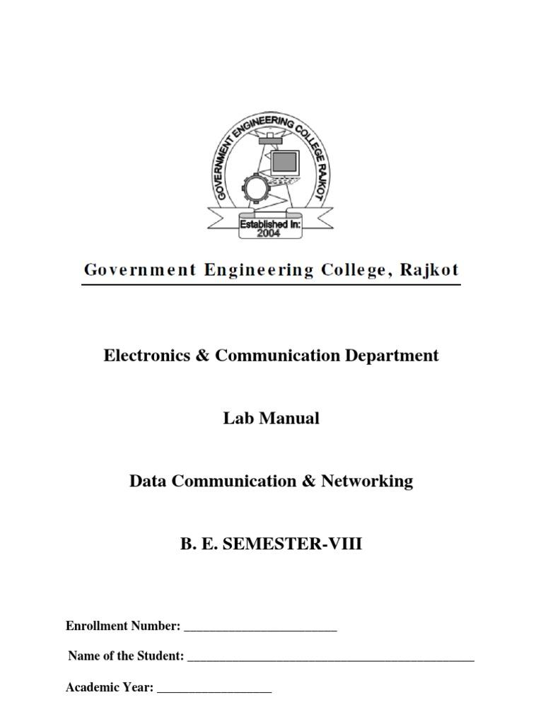 dcn lab manual gecr ip address computer network rh scribd com Data Communication Network and Duplex Organizational Communication and Data Flows