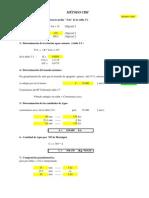 DOSIFICACIÓN (metodo CBH )