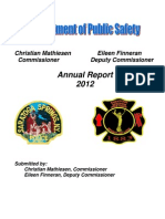 2012 Public Safety Annual Report