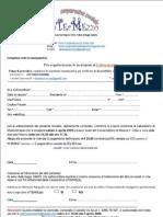 Scheda Preiscrizione Lab Oratorio 4 Aprile