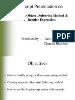 JavaScript Strings Object