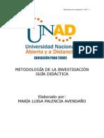 Metodologia Protocolo y Guia de Actividades