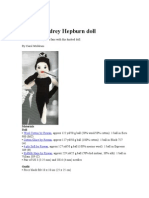 Knit an Audrey Hepburn Doll