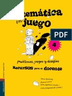 MATEMÁTICA EN JUEGO4º