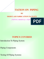 Piping Presentation L & T