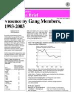 Violence by Gang Members