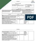 Planificación funciones 2013