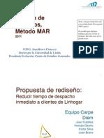 Método MAR para rediseñar procesos