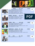 Liste des engagés Elites au Marathon de Paris 2013