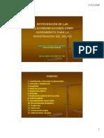 Intervención de las telecomunicaciones [Modo de compatibilidad]