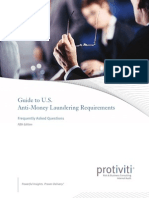 US Documents Resource Guides Guide to US AML Requirements 5thEdition Protiviti