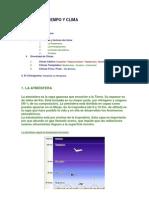 Unidad 4 - El Tiempo y El Clima Resumen