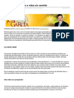 Josengarcia.com-Vidas Con Propsito o Vidas Sin Sentido