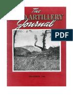 Field Artillery Journal - Sep 1944