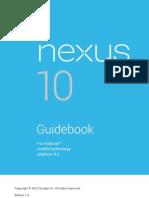 Nexus 10 Guidebook