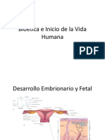 Bioética e Inicio de la Vida Humana