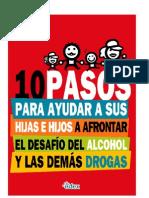10 Pasos Para Ayudar Hijos Afrontar Alcohol y Drugs