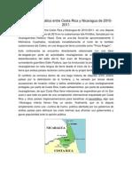 Conflicto diplomático entre Costa Rica y Nicaragua de 2010