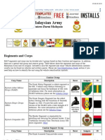 Malaysian Armed Forces Order of Battle Regiments and Corps.pdf