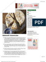 Bakewell Cheesecake Recipe - Recipes - BBC Good Food
