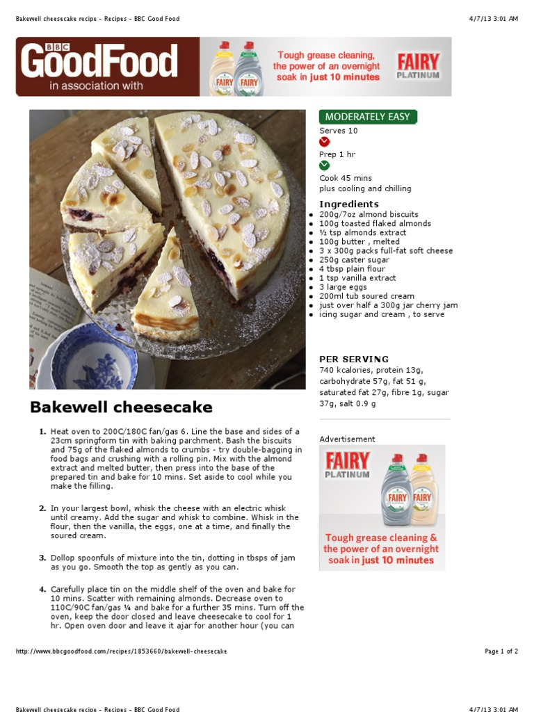Bakewell cheesecake recipe recipes bbc good food cheesecake bakewell cheesecake recipe recipes bbc good food cheesecake almond forumfinder Choice Image