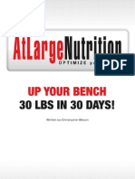 Up Your Bench Press 30lbs in 30 Days