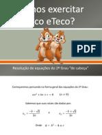 Vamos exercitar Tico eTeco.ppsx